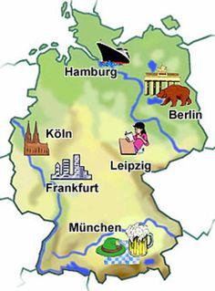 Karte und wesite mit informationen