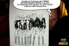 Comic-Soon: CINQUE RAGAZZI ALLEGRI MORTI DI DAVIDE TOFFOLO, L'...
