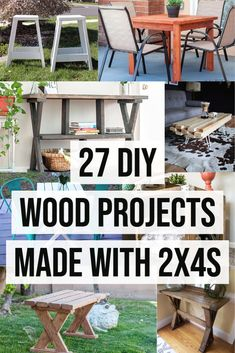 Wow!! These 2x4 projects are so easy to build! Easy DIY 2x4 furniture projects and 2x4 scrap wood project ideas. Check them out now! #2x4woodprojects #woodworking #AnikasDIYLife Kreg Jig Projects, 2x4 Wood Projects, Wood Projects For Beginners, Wood Working For Beginners, Diy Furniture Projects, Easy Diy Projects, Project Ideas, 2x4 Furniture, Painted Furniture