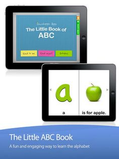 ABC Alphabet Letters by The Little Book by Innovative Mobile Apps ($0.00) Add your own voice -listen to the entire story in mommy's or daddy's voice ✔ Story highlights - Each word is highlighted in read as it is being read, making this a perfect learning to read tool ✔ Word highlights - Words respond to touch - individual words highlight and are read out loud when tapped ✔ Picture highlights - Words respond to touch - in other words, click on any word and hear it being read