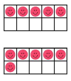 Smiley Ten Frames Freebie https://www.teacherspayteachers.com/Product/Smiley-Ten-Frames-Freebie-1577999