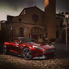 New Aston Martin Vanquish