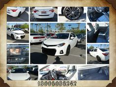 Used Car 2014 Toyota Corolla S Sedan for sale, Color White, Trim Blue, Steel Blue Fabric seat Trim, Medium Size, Transmission Automatic, Miles 472, make Toyota, Series S Plus, Model Corolla, traction control, MP3 Single Disc, Stability Control, Bluetooth wireless, ABS 4 wheel, Backup Camera, Keyless Entry, Dual Air bags, Air Conditioning, Side Air Bags, Power Windows, F&R Head Curtain Air Bags, Power Door Locks, LED Headlamps, Cruise Control, Daytime Running Lights, Power Steering, Rear…