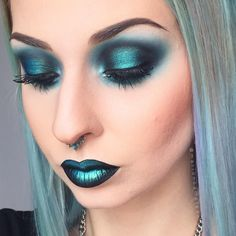 Peacock Inspires Dramatic Eye Makeup Ideas Peacock Eye Makeup Samples & T . - Peacock Inspires Dramatic Eye Makeup Ideas Peacock Eye Makeup Samples & T …, Peacock Inspires Dra - Peacock Eye Makeup, Dramatic Eye Makeup, Dramatic Eyes, Turquoise Eye Makeup, Makeup Inspo, Makeup Art, Makeup Inspiration, Hair Makeup, Makeup Ideas
