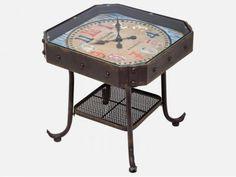 Stolik Kawowy Antique Clock I Kare Design 76695