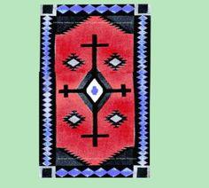 1914/1915 Indian Blanket Crochet Pattern....  PDF ... Instant Download .... J472
