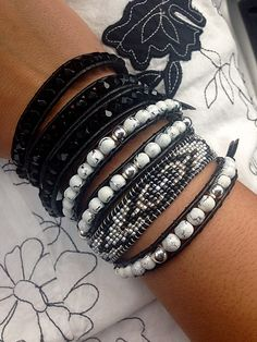 Black & White Should we add. See more http://www.dacostajewelry.com