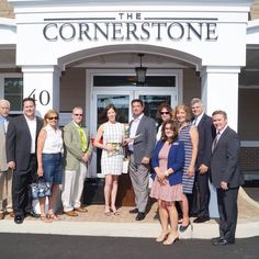 Another Ribbon Cutting photo courtesy of Bill Moseley, BBA Photography. This time we're at @thecornerstonefarmingdale, a beautiful new apartment building with wonderful amenities located within walking distance of Farmingdale's vibrant Main Street and the Farmingdale #LIRR  Station. A #commuter's dream! #welcome to #farmingdale #longisland