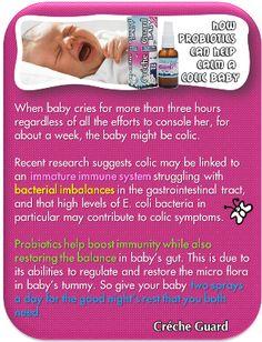 Colic Babies. Probiotics. Crecheguard Colic Baby, Best Probiotic, Sauerkraut, Immune System, Effort, Crying, Babies, Meals, Babys