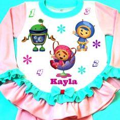 Skye Girl Dog Pajama.Personalized PJs Made by FantasyKidsDesigns ...