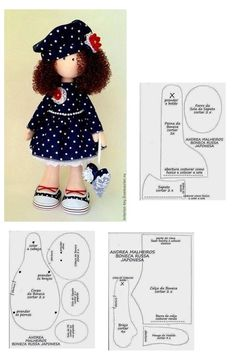 Love doll Fabric doll Tilda doll pink red by AnnKirillartPlaceMany doll patterns Doll Crafts, Diy Doll, Sewing Crafts, Doll Clothes Patterns, Doll Patterns, Sewing Patterns, Fabric Toys, Sewing Dolls, Dress Sewing