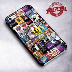 Broadway Musical Collage Case - For iPhone 4/ 4S/ 5/ 5S/ 5SE/ 5C/ 6/ 6S/ 6 PLUS/ 6S PLUS/ 7/ 7 PLUS Case And Samsung Galaxy Case