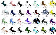 Horse Adoptables - Make me an offer I can't refuse by KTLasair.deviantart.com on @DeviantArt