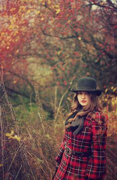 Beautiful Tartan Coat  coming out for Fall