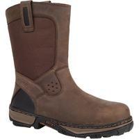 Rocky Forge Men's Waterproof Wellington Steel-Toe Work Boots - Style #RK024