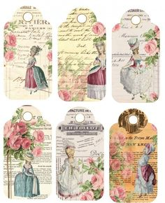 Sheet marie hangers | ~Marie Antoinette | Nostalgie & Brocante: