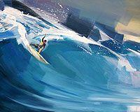 Showcase of surfing and surf culture-inspired art by artist Vincenzo Ganadu on Club of the Waves Surfboard Painting, Surfboard Art, Fantasy Mermaids, Real Mermaids, Water Art, Sports Art, Ocean Art, Beach Art, Clipart