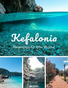 Travel tips for a week in Kefalonia - In this post I present my travel tips for a week on the Greek island of Kefalonia. New Travel, Ultimate Travel, Travel Goals, Travel Tips, Travel Ideas, Vacation Ideas, Places To Travel, Places To See, Reisen In Europa