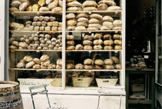 A French Storefront that makes the whole neighborhood smell good. French Bakery.