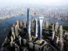 Shanghai Tower, China - AP Photo