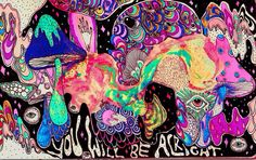trippy lsd shrooms acid psychedelic trip tripping hallucination mushrooms magic mushrooms psychedelics hallucinogen