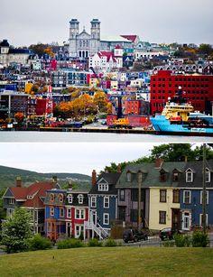 St. Johns - Newfoundland, Canada Newfoundland Canada, Newfoundland And Labrador, Gros Morne, Mists Of Avalon, Ottawa, Best Vacation Spots, Atlantic Canada, Canadian Travel, O Canada