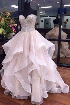 Herzhaft Rosa 2019 Homecoming Kleider A-line Liebsten Kurz Mini Organza Kristalle Perlen Backless Elegante Cocktail Kleider Weddings & Events