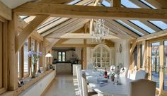 Oakwrights Village home - traditional post and beam houses