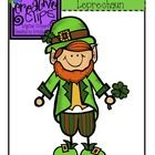 Here+is+a+friendly+little+leprechaun+for+you+to+use+in+your+St.+Patrick's+Day+lessons+and+products!+Color+and+black+and+white+version+included.  Ch...