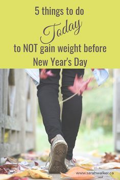 Did you know the average person gains 8 pounds in the 6 weeks before Christmas? Here's how you can NOT gain weight this year. Things To Do Today, 5 Things, Wellness Fitness, Health And Wellness, Sarah Walker, Weight Gain, How To Stay Healthy, Did You Know, Improve Yourself