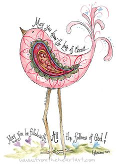 paisley prints | paisley pink chick print ephesians 3 19 the paisley pink chick print ...