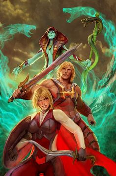 He Man and The Masters of the Universe by Nebezial.