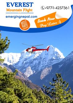 Everest Mountain Flight - Emerging Nepal Trek & Tours  Everest Mountain Flight is equally popular among domestic and foreign tourists. It offers the easiest way to discover splendid views of Mt Everest, Kanchenjunga, including many other snow-clad mountains. #Everest #Adventure #Holiday #Travel