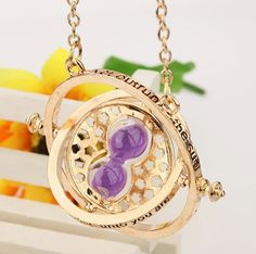 This replica of Hermione Granger's Time Turner necklace from the Harry Potter Prisoner of Azkaban movie is really beautiful. The unique high quality design can't be found anywhere else. It's eye catch