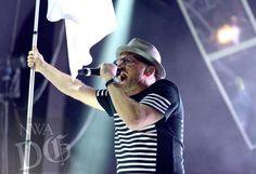 Toby Mac This is Not a Test tour. His opening was amazing!!!!!! I can't believe I actually got to see this!!!