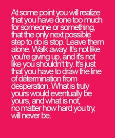 How Hard You Try - Great Relationship Quote