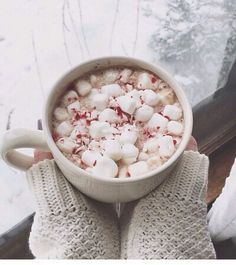Peppermint hot coco