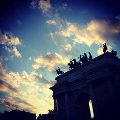 Arc of Peace. Milan, Italy. Ph. Mauro Ciullo.