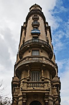 Palacio Raggio , Argentina , from Iryna Beautiful Architecture, Architecture Details, Central America, South America, Visit Argentina, Interesting Buildings, Down South, Brazil, Pacific Northwest