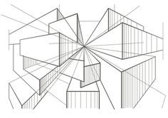 How To Use Diagonals To Find Depth | www.drawing-made-easy.com | #structure