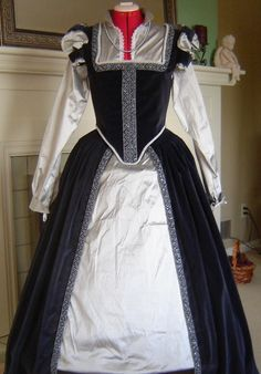 Elizabethan Renaissance Gown - Custom Made. $350.00, via Etsy.