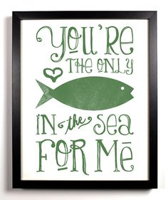 Josh<3   You're The Only Fish In The Sea For Me Special by StayGoldMedia, $9.99
