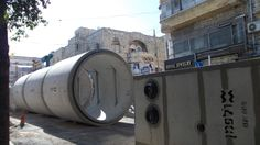 Street repairs in Hertzel street  phoyo mirjam Bruck-Cohen