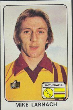 Mike Larnach of Motherwell in 1970s, Football, Soccer, Futbol, American Football, Soccer Ball