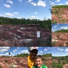 Week 2 of 7 amazing things to see in Ontario. Cheltenham Badlands are truly a sight to see Cheltenham Badlands, Canada 150, Amazing Things, Geology, Ontario, Instagram Posts, Travel, Viajes, Destinations