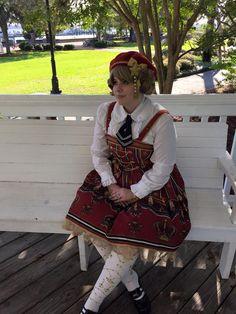 --> R-Series ♚♛**Take The Crown**♚♛ Lolita Jumper Dress Buyer Show --> Learn More: http://www.my-lolita-dress.com/testimonials/r-series-take-the-crown-lolita-jumper-dress-buyer-show/