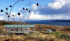 Lotte Glob's Sculpture Croft, on Loch Eriboll North Coast 500, East Coast, Off Grid Communities, Planet Pictures, Scotland Culture, Isle Of Harris, Inverness, Scotland Travel, The Guardian