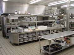 restaurant kitchen layout plans - Google Search                                                                                                                                                                                 More