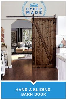 when the opportunity for a stylish kitchen knocks slide the barn door open with this modern diy project with national interior sliding door hardware