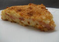 Torta di patate e prosciutto